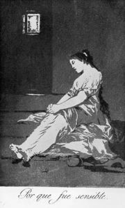 Francisco De Goya - Because she was susceptible