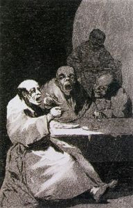 Francisco De Goya - They are hot