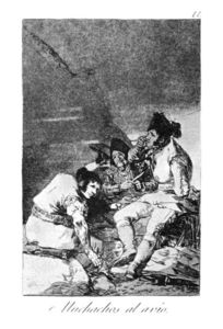 Francisco De Goya - Lads getting on with the job