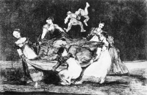 Francisco De Goya - Feminine Folly