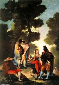 Francisco De Goya - The Maja and the Masked Men