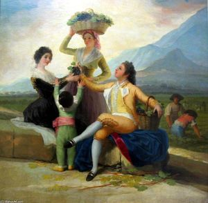Francisco De Goya - Autumn, or The Grape Harvest