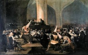 Francisco De Goya - Inquisition Scene