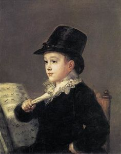 Francisco De Goya - Portrait of Mariano Goya