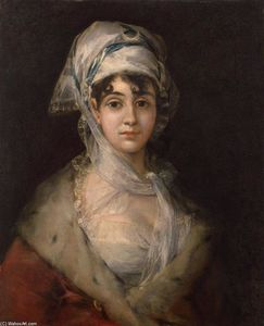 Francisco De Goya - Actress Antonia Zarate