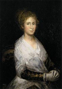 Francisco De Goya - Portrait thought to be Josepha Bayeu (or Leocadia Weiss)
