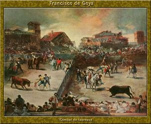 Francisco De Goya - Bullfight