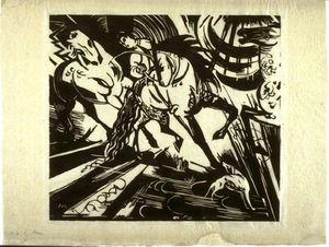 Franz Marc - Riding School