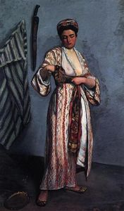Jean Frederic Bazille - Woman in Moorish Costume