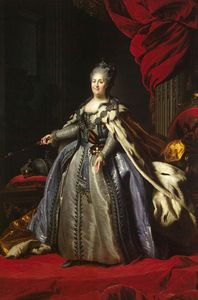 Fyodor Stepanovich Rokotov - Portrait of Catherine II of Russia