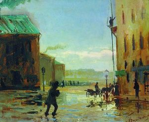 Fyodor Alexandrovich Vasilyev - After a Rain (Spring in St. Petersburg)