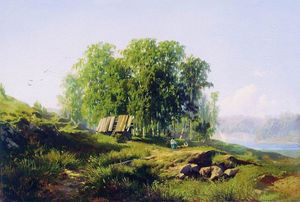 Fyodor Alexandrovich Vasilyev - In the Vicinity of St. Petersburg