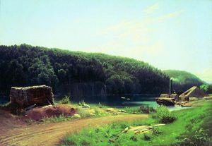 Fyodor Alexandrovich Vasilyev - On the Island Valaam