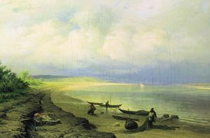 Fyodor Alexandrovich Vasilyev - Bank of the Volga after the Storm