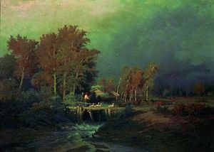 Fyodor Alexandrovich Vasilyev - Before the Rain