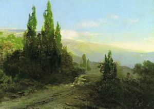 Fyodor Alexandrovich Vasilyev - Evening in the Crimea