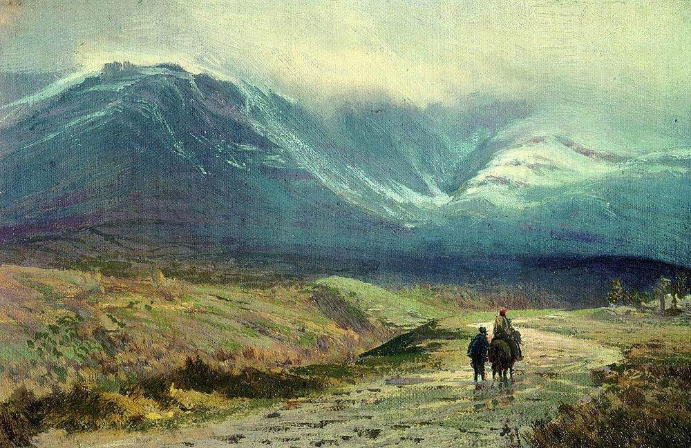 In the Crimea. After a Rain, 1873 by Fyodor Alexandrovich Vasilyev (1850-1873, Russia) | Painting Copy | WahooArt.com
