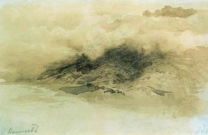 Fyodor Alexandrovich Vasilyev - Mountains in the Clouds
