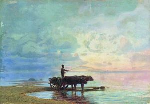 Fyodor Alexandrovich Vasilyev - On the Beach