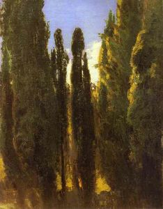 Fyodor Alexandrovich Vasilyev - Cypresses in the Crimea