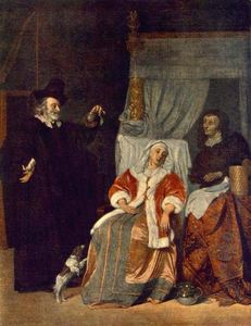 Gabriel Metsu - The Patient and the Doctor