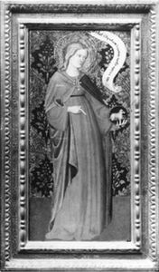 Gentile Da Fabriano - St. Agnes (wing of a diptych)