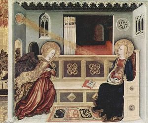 Gentile Da Fabriano - The Annunciation