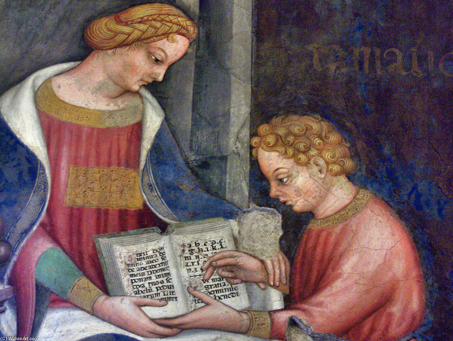 Grammar by Gentile Da Fabriano (1370-1427, Italy) | Painting Copy | WahooArt.com