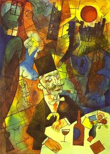 George Grosz - The White Slave Trader
