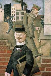 George Grosz - The Gray Day