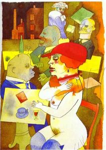 George Grosz - Beauty, Thee I praise