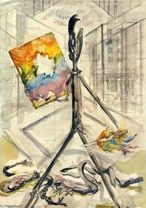 George Grosz - The enemy of the rainbow