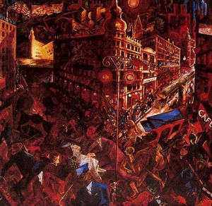 George Grosz - The City