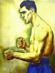 George Grosz - Max Schmeling the Boxer