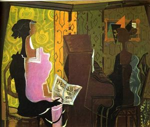 Georges Braque - The Duet