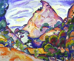 Georges Braque - Gray weather in cove