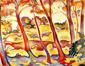 Georges Braque - Landscape at La Ciotat
