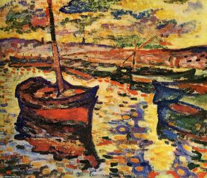Georges Braque - The Harbor