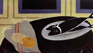 Georges Braque - The Black Fish