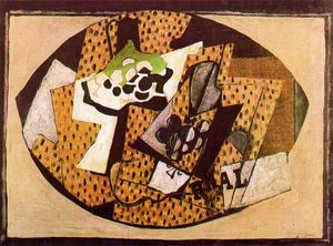 Georges Braque - Still Life with Grapes (II)