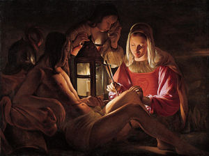 Georges De La Tour - St. Sebastian with Lantern