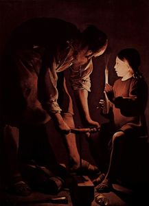 Georges De La Tour - St. Joseph, the Carpenter