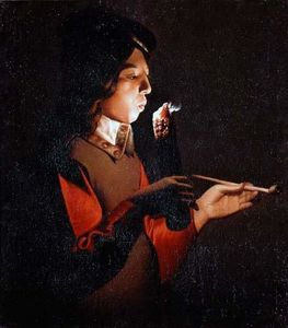 Georges De La Tour - Smoker