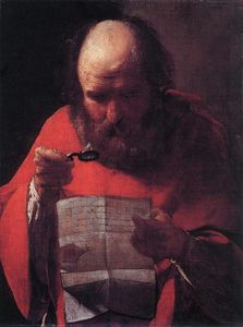 Georges De La Tour - St. Jerome Reading