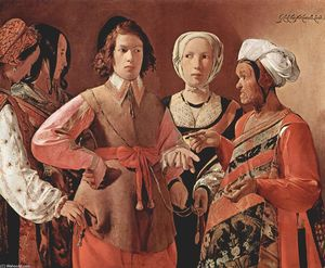 Georges De La Tour - The Fortune-Teller