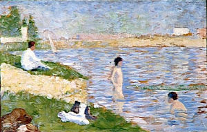 Georges Pierre Seurat - Study for ''Bathers at Asnieres''