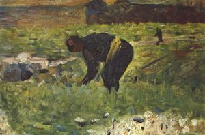 Georges Pierre Seurat - Farmer to work