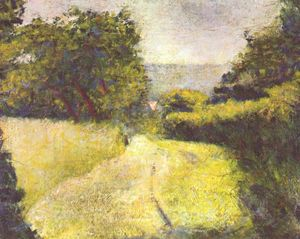 Georges Pierre Seurat - The Hollow Way
