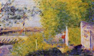 Georges Pierre Seurat - The Bineau Bridge