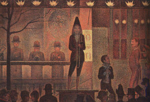 Georges Pierre Seurat - Circus Sideshow